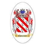 Chatainier Sticker (Oval)