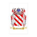 Chatain Sticker (Rectangle 10 pk)