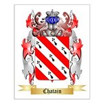 Chatain Small Poster