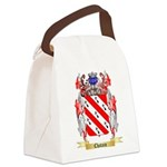 Chatain Canvas Lunch Bag
