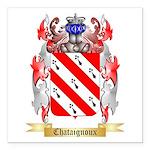 Chataignoux Square Car Magnet 3