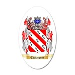 Chataignon 35x21 Oval Wall Decal