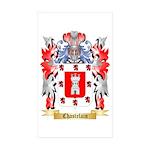 Chastelain Sticker (Rectangle 50 pk)