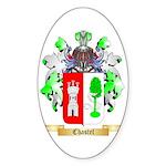 Chastel Sticker (Oval)