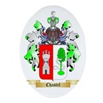 Chastel Ornament (Oval)