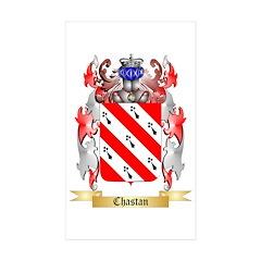 Chastan Sticker (Rectangle 50 pk)