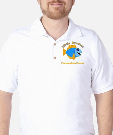 Little Brother Fish Golf Shirt