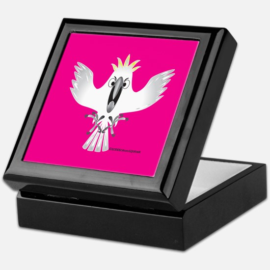 Screaming Parrot Keepsake Box