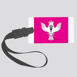 Screaming Parrot Luggage Tag