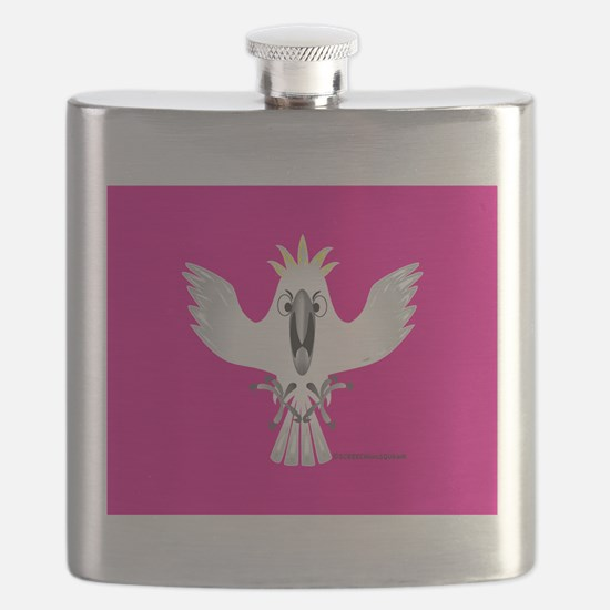 Screaming Parrot Flask
