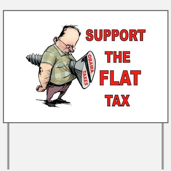 FLAT TAX Yard Sign