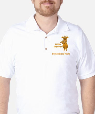 Little Brother Giraffe Golf Shirt