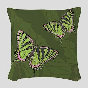 Celtic Swallowtail Woven Throw Pillow