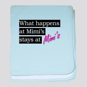 What happens at Mimi's house . . . baby blanket