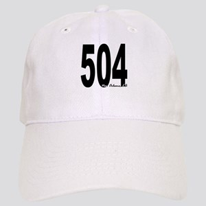 504 New Orleans Area Code Baseball Cap