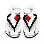 Ace Of Diamonds Flip Flops