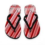 Peppermint Candy Stick Flip Flops