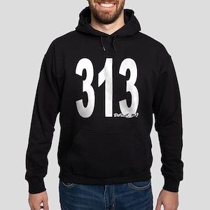313 Detroit Area Code Hoodie