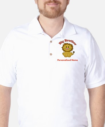 Big Brother Lion Golf Shirt