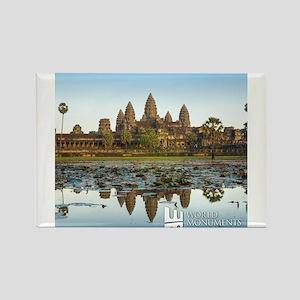 Angkor Wat Rectangle Magnet