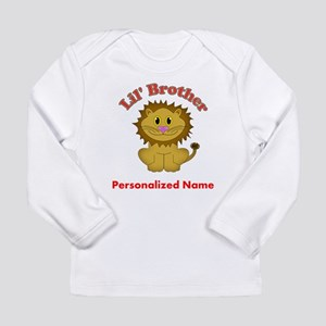 Little Brother Lion Long Sleeve Infant T-Shirt