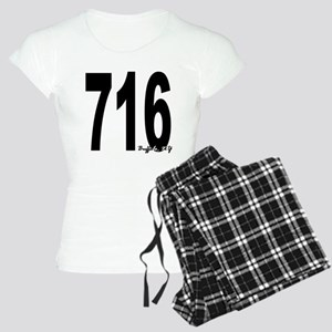 716 Buffalo Area Code Pajamas