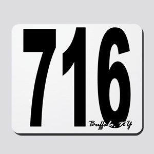 716 Buffalo Area Code Mousepad