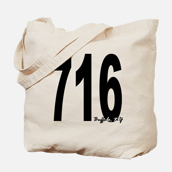 716 Buffalo Area Code Tote Bag