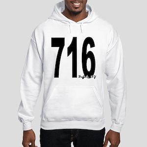 716 Buffalo Area Code Hoodie