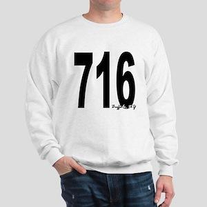 716 Buffalo Area Code Sweatshirt