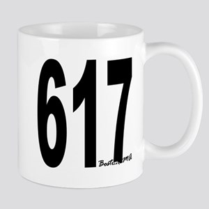 617 Boston Area Code Mug