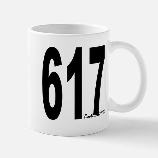 617 Boston Area Code Mug