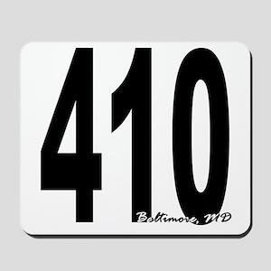 410 Baltimore Area Code Mousepad
