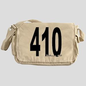 410 Baltimore Area Code Messenger Bag