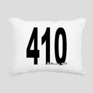 410 Baltimore Area Code Rectangular Canvas Pillow