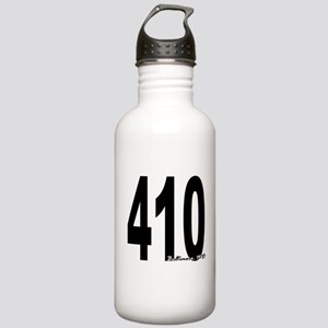 410 Baltimore Area Code Water Bottle