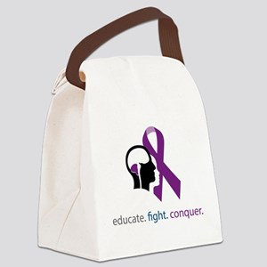 edu.fight.conquer Canvas Lunch Bag