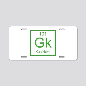 Gk Geekium Element Aluminum License Plate
