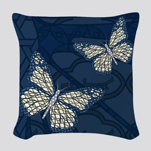 Jewish Monarch Woven Throw Pillow