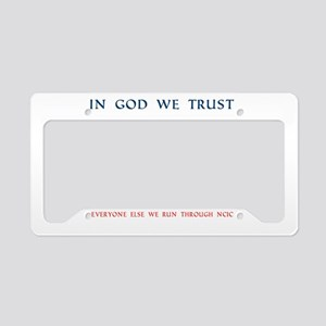 CASA Angel Trust License Plate Holder