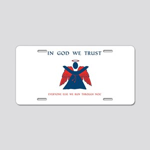 CASA Angel Trust Aluminum License Plate