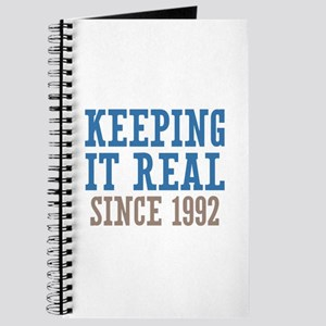 Keeping It Real Since 1992 Journal