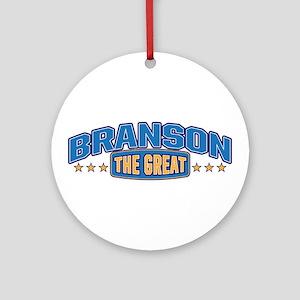 The Great Branson Ornament (Round)