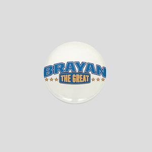 The Great Brayan Mini Button