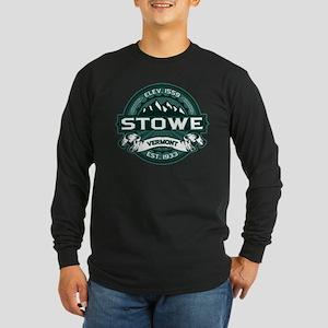 """Stowe """"Vermont Green"""" Long Sleeve Dark T-Shirt"""