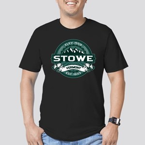 "Stowe ""Vermont Green"" Men's Fitted T-Shirt (dark)"