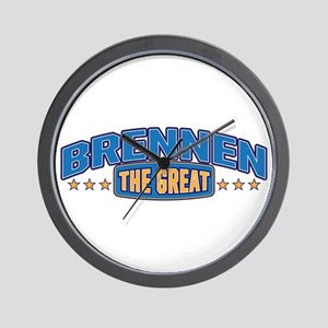 The Great Brennen Wall Clock