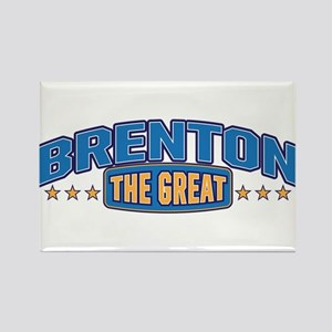 The Great Brenton Rectangle Magnet
