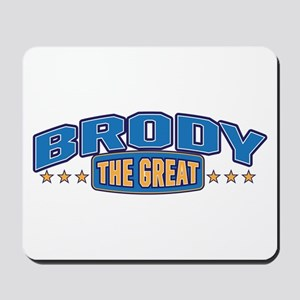 The Great Brody Mousepad