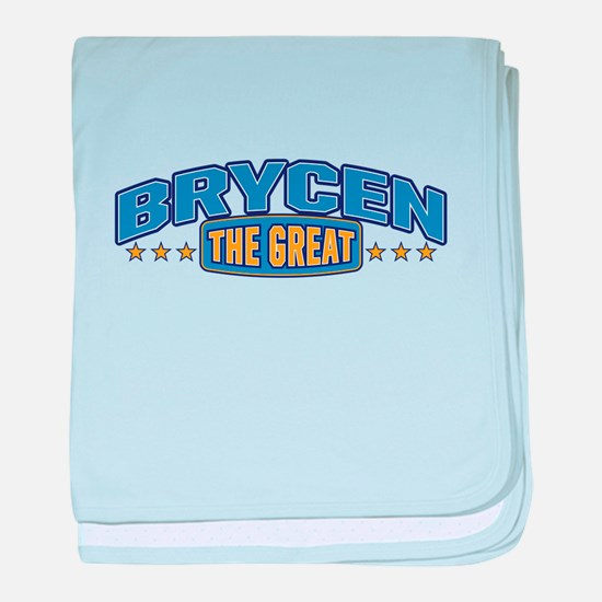 The Great Brycen baby blanket